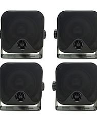"""3.5 """"imperméables haut-parleurs de la boîte de marine lourds pour Boat ATV UTV 2 paires (200w)"""