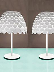 Originality Table Lamp 1 Light Scale Iron Incision White Lustres Home Abajur Para Quarto