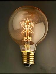 g80 pentagramme décoration rétro 40 w ampoule