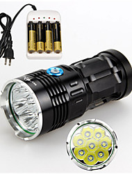 3 Mode 9800 Lumens LED Flashlights Cree XM-L2
