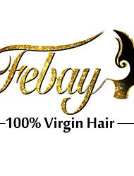 "20 ""# 1b / 613 brazilian maagd haar 7pcs klem in remy human hair extensions"