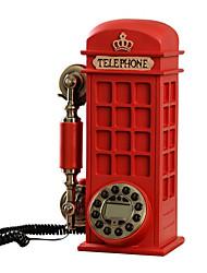 la mode nouveauté créative décoration de style cabine téléphonique téléphone antique