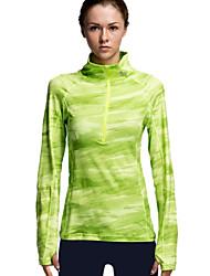 Vansydical® Women's Long Sleeve Running T-shirt Tops Compression Lightweight Materials Sweat-wicking Spring Summer Fall/Autumn Winter