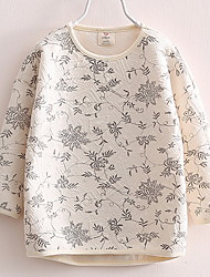 Flowers Baby Sweater