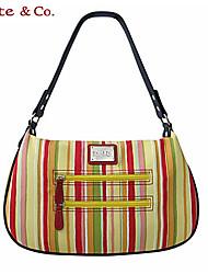 Kate & Co.® Women PVC / Cowhide Shoulder Bag Multi-color - TH-02110