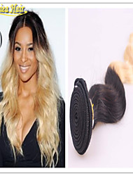 Ombre Brazilian Virgin Hair Body Wave Top Quality Products Ombre Hair Extensions Omber 1B/613 3Pcs Lot Human Hair Weave