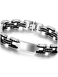 Stylish Men Jewelry Stainless Steel Titanium Steel Bracelet and Bangle Perfect Gift