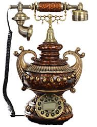 style européen nouveauté manboto de mode vintage style antique téléphone fixe