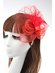 Rose Flower Fascinators Hair Jewelry