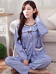 Pajama Donna Cotone Medio spessore
