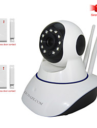 HOSAFE™ 1MW9 1.0 Megapixel HD Alarm Wireless IP Camera with Wireless Door Contact