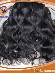 "4 Pcs /Lot 8""-24"" Brazilian Virgin Hair Natural Black Body Wave Unprocessed  Human Hair Extensions Bundles New Arrival"