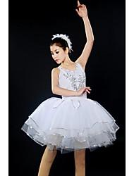 Ballet Dresses&Skirts/Tutus & Skirts/Tutus Women's Performance/Training Spandex Appliques White