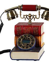 Nouveauté téléphones vintage style antique européen de forme de livre de style