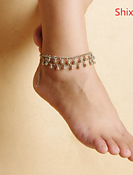 Women's Anklet/Bracelet Alloy Unique Design Simple Style Fashion Jewelry Silver Women's Jewelry Casual 1pc