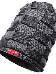 Clothin Unisex Women Men Winter Warm Ski Knitted Crochet Hat Baggy Beanie Cap
