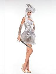 Costumes - Déguisements thème film & TV / Pirate / Zombie / Vampire - Féminin - Halloween / Carnaval - Robe / Gants / Chapeau