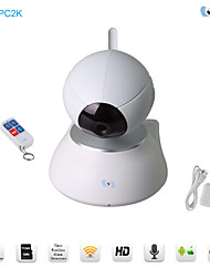 Snov Wireless IP IR PTZ Surveillance Camera with 1pc Remote Controller, HD Baby Monitor