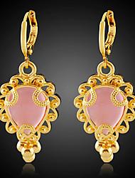 Bettr 18K Gold Vacuum Plating Retro Gold Earrings(Mosaic Zircon)
