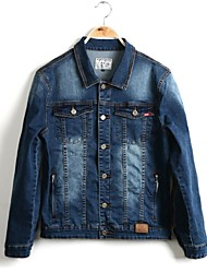 Men's Pure ColorTrend Jeans Jacket