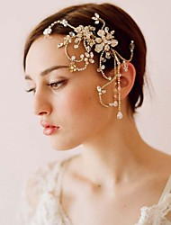 Hot Style Handmade Beaded Fringe Cuttlefish Combs The European And American High-End Bride Headdress
