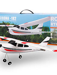 WLtoys 2.4g f949 3 canales cessna 182 micro bnf rc avión sin transmisor