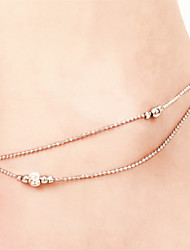 Anklet/Bracelet Others Unique Design Fashion Copper Silver Plated Silver Women's Jewelry 1pc