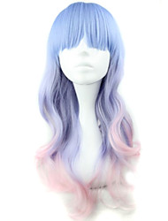 Anime Fashion Must-Have Festival Long Color Hair Quality Wigs