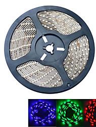 JIAWEN® 5 M 300 5050 SMD RGB Impermeabile 60 W Strisce luminose LED flessibili DC12 V