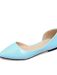 Women's Shoes  Flat Heel Pointed Toe Flats Casual Black/Blue/Yellow/White/Beige