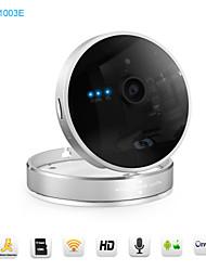 snov® 720p caméra intelligente cube IP, caméra de surveillance de la vision de nuit, détection de mouvement, sans fil sv-p1003e