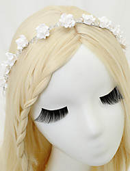 Women's Imitation Pearl Acrylic Resin Headpiece-Wedding Headbands 1 Piece