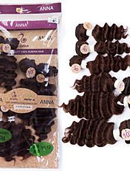 ALL IN ONE DEEP WAVE Human Hair Brazilian Virgin Hair Deep Wave Extensions 7A Grade Weaving