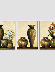 Oil Painting Set of 3 Modern Still Life ,Canvas Material with Stretched Frame Ready To Hang SIZE:50*70CM*3PCS .