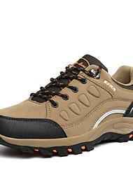 Men's Hiking Shoes Suede Black / Green / Gray / Khaki