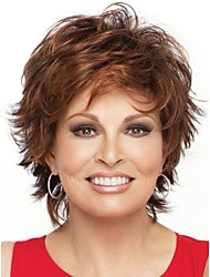 Natural Light Brown Straight Short Wig For Woman Fashion Wig