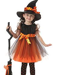 Costumes - Sorcier - Enfant - Halloween / Noël / Carnaval / Le Jour des enfants - Robe / Chapeau