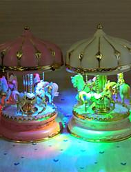 Merry-Go-Round Horse Music Box Christmas Birthday Gift Carousel Music Box