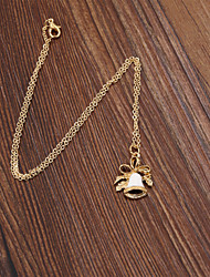 Fashion Women Cute Enamel Christmas Bell Pendant Necklace