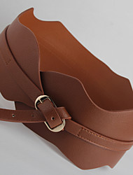 New Spring and Summer, Waist Tie Belt Korean Fashion Wave Edge Wide Girdle Female Wild
