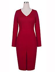 Women's Sexy Long Sleeve Dress