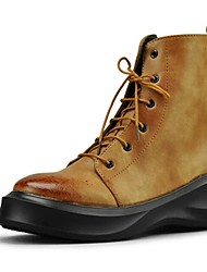 Men's Shoes Casual Boots Black / Yellow / Red
