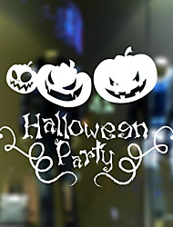 Window Stickers Window Decals Style Halloween Pumpkin PVC Window stickers