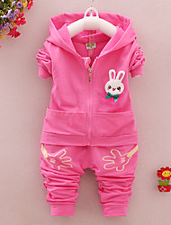 Girl's Cotton Blend Clothing Set , Spring/Fall Long Sleeve,Cute Baby Boys Gentle Clothes Set
