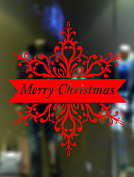 Window Stickers Window Decals Style The New Christmas Window Glass Decoration PVC Window stickers
