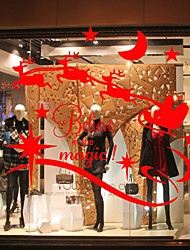 Window Stickers Window Decals Style Christmas Window Glass Decoration PVC Window stickers