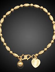 FX Exquisite Necklace 18K Real Gold/Platinum Plated Fashion Jewelry  Pendant Copper Bracelet