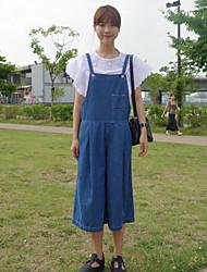 Pantalón De las mujeres Casual - Denim