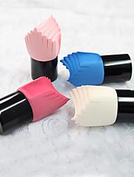 1Pcs Cream Foundation Make Up Cosmetic Makeup Brushes Liquid Sponge Brush (Random Color)