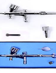 Airbrush Kit 0.2mm Needle Air Brush Compressor Temporary Tattoo Body Paint Art Nail Mini Air Compressor